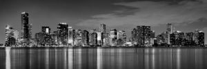 miami-skyline-at-dusk-black-and-white-bw-panorama-jon-holiday