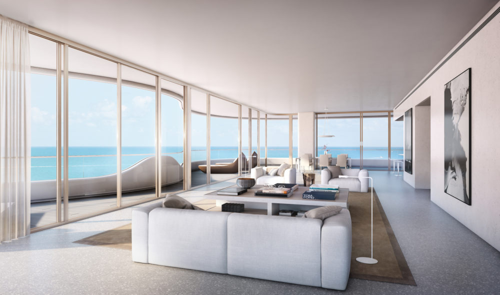Living Room Faena Miami Luxury Real Estate 1 855 756 4264