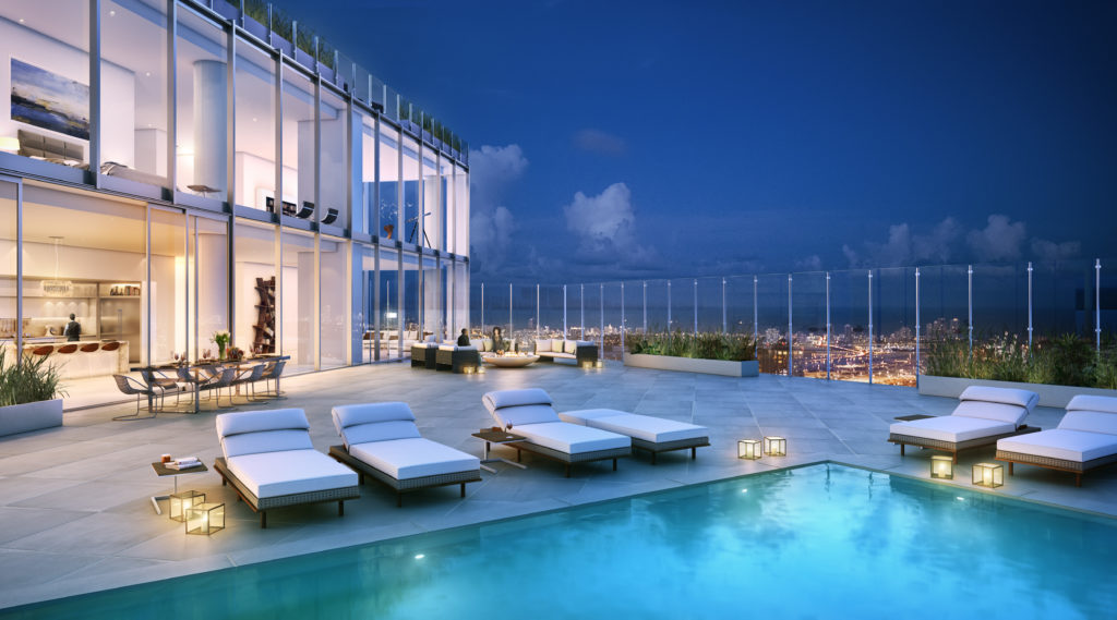 One River Point - pool