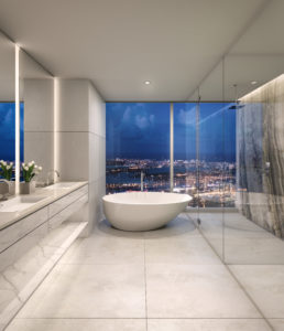 One River Point - Bathroom