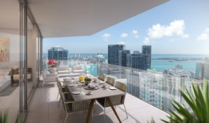 One River Point - balcony