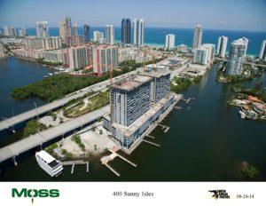 Sunny Isles Ariel Construction Photos
