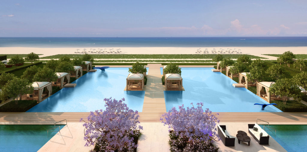 Fendi residences - pool