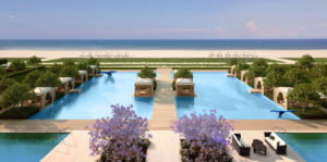 Fendi residences - pool