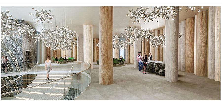 aria-on-the-bay- lobby-area