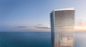 Residences by Armani Casa - West Facade with Ocean View