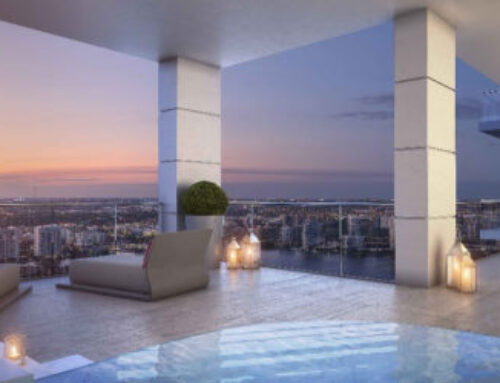 Enjoy 360 degree views at The Estates at Acqualina