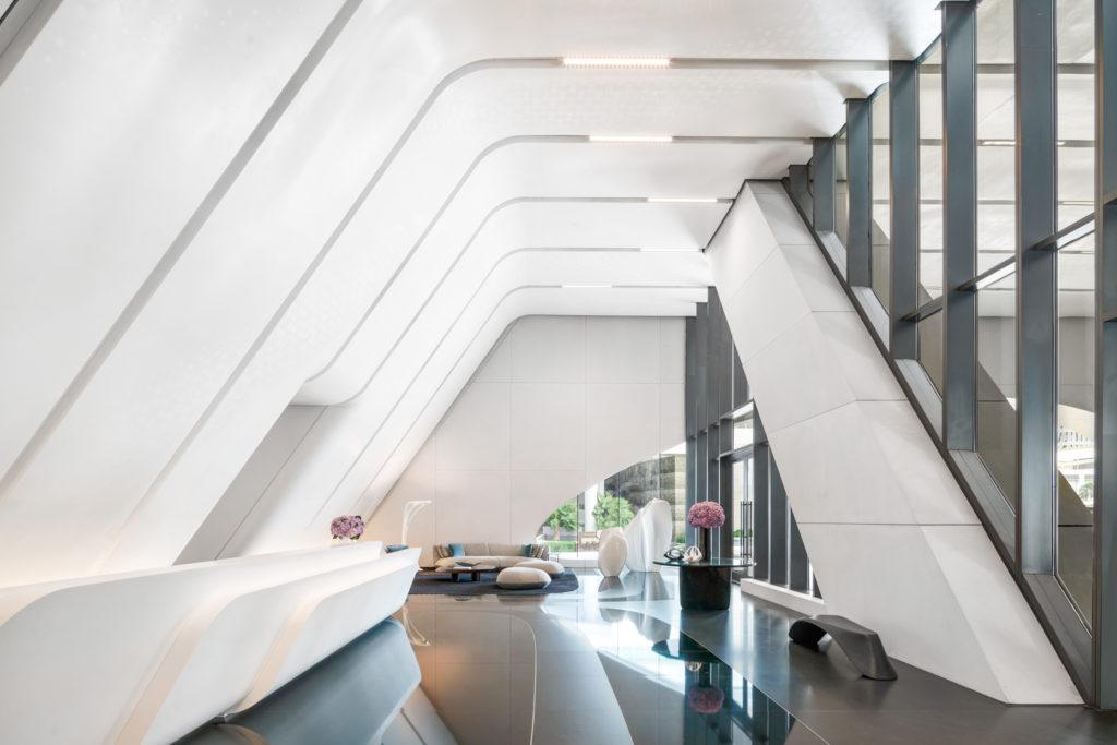 Lobby, 1000 Museum Residences