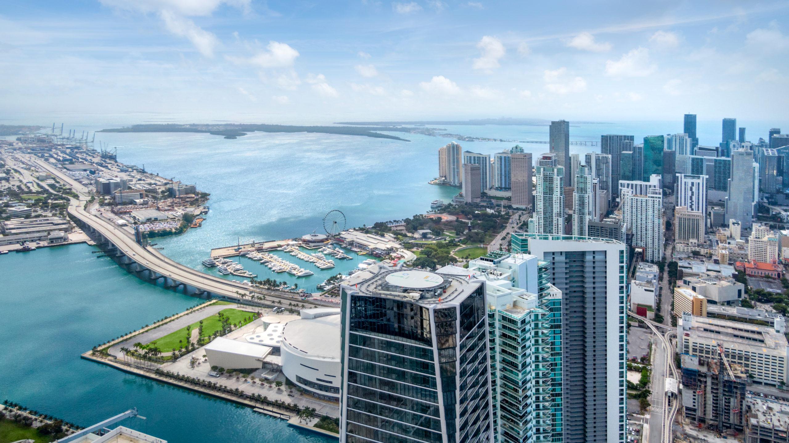 Helipad 1000 Museum Residences Miami
